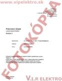Potvrdenie účasti na školení Loxone pre Viktora Guzmana