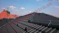Bleskozvod novostavba strecha