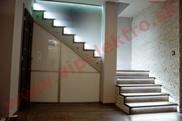 Inštalácia, montáž, realizácia profesionálneho LED osvetlenia, schody, schodište