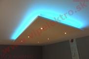 Montáž,inštalácia,profesionálne led osvetlenie,rgb pás, bodové svetlá, novostavba