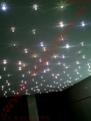 Montáž, inštalácia - dekoračné LED osvetlenie - strop - kryštály swarovski