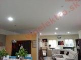 Montáž, inštalácia - profesionálne LED osvetlenie - priestory predajne