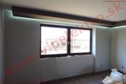 Profesionálne LED osvetlenie, dekorácia strop - podhľad, montáž novostavba
