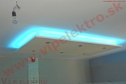 Profesionálne LED osvetlenie - podhľad, osvetlenie strop, montáž novostavba