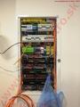 Inštalácia, montáž rozvádzača pre inteligentný smart IQ dom Loxone - zbernice, digitálne ovládateľné spínače