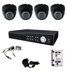 Cena montáže - inštalácie analógový kamerový systém