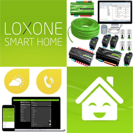 Montáž, inštalácia LOXONE - inteligentný IQ dom